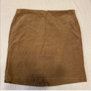 OLD NAVY size 16 brown cotton skirt for women
